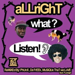 aLLriGhT - What? Listen! artwork